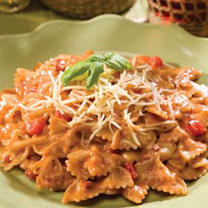 Picture of Creamy Tuscan Pasta with Sundried Tomatoes - Single